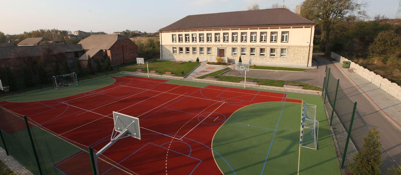 Szkoła i boisko